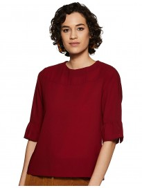 Marie Claire Women's Regular fit Top