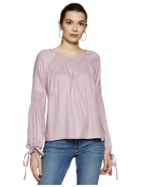 Marie Claire Women's Plain Regular fit Top
