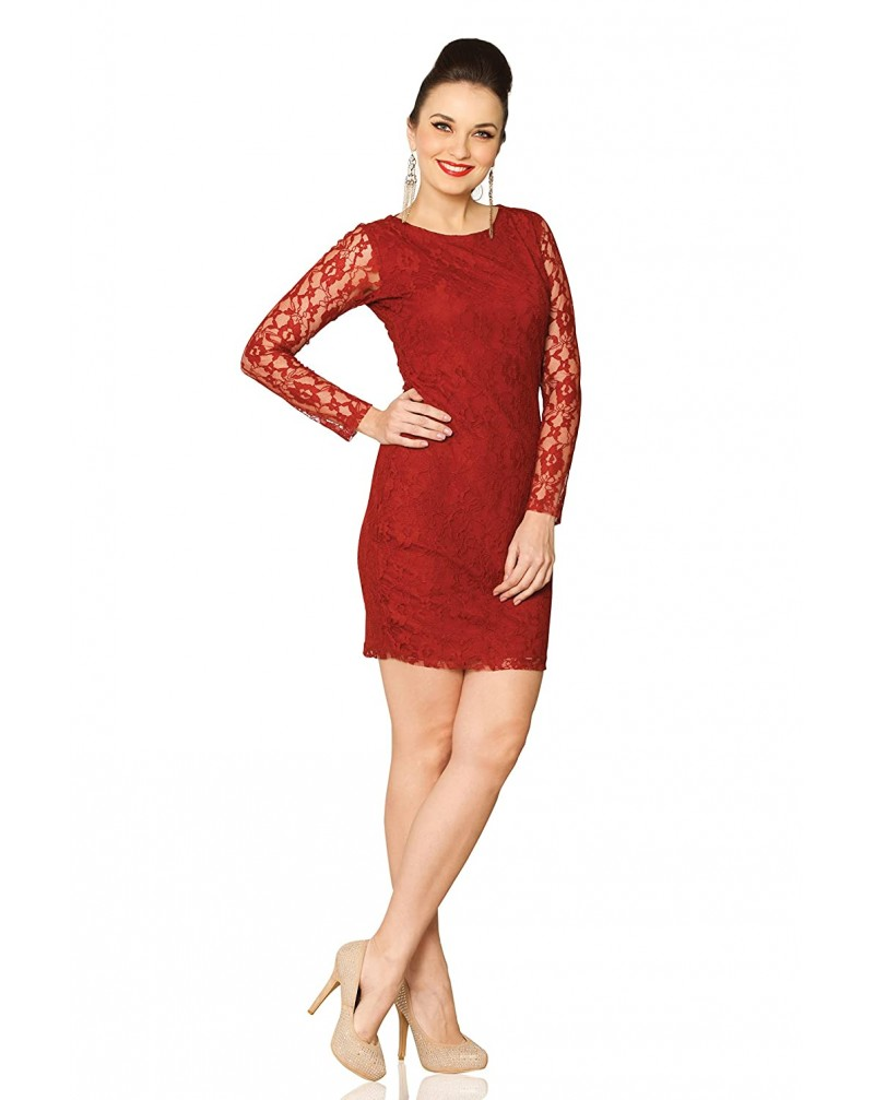 Miss Chase Women's Lace Bodycon Dress