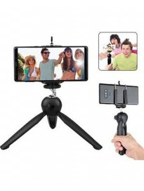 Mini Tripod Smartphone Camera Stand with Mobile Bracket Holder