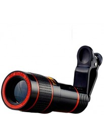 12X Lens Pro with Blur Background Effect & Adjustable Clip Suitable for All Mobile-Phones