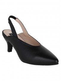 SHERRIF SHOES Women's Black Colored Slip-on