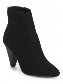 TRUFFLE COLLECTION Women's BILLY11 Black Suede Boots