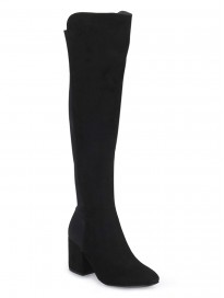 TRUFFLE COLLECTION Women's ABD32 Black Suede Boots