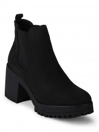 TRUFFLE COLLECTION Women's AAW22 Black Suede Boots