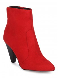 TRUFFLE COLLECTION Women's BILLY11 Red Suede Boots