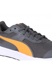 Puma Unisex's Escaper Mesh Iron Gate-Shocking Orange-P Sneakers