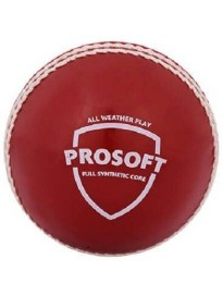 SG PROSOFT Cricket Synthetic Ball  (Pack of 1, Multicolor)