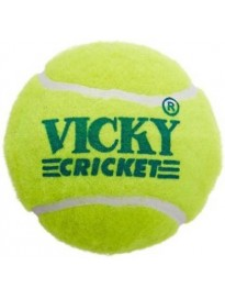 Vicky Tennis Cricket Ball, Pack of 6
