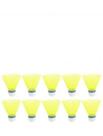 Nylon Shuttle - Yellow  (Medium Slow, 76, Pack of 10)