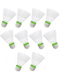 Plastic Shuttle - White  (Medium, 77, Pack of 10)